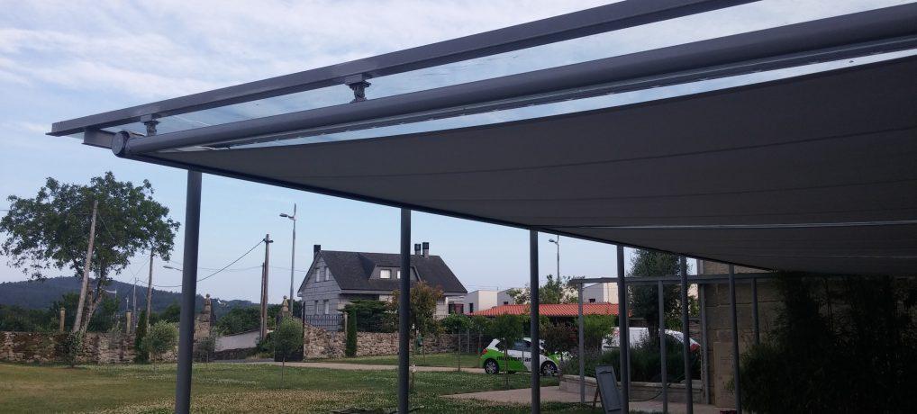 Toldos para techos y cerramientos